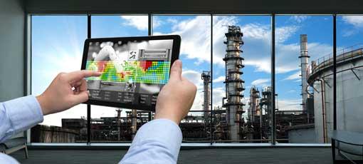 Energiemanager steuert Industrieanlage mit iPad