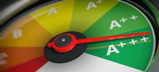 Energieverbrauchsbarometer zeigt auf A+++